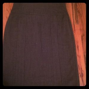Women's gray Worthington pencil skirt, size 8
